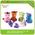 Цвет лошади 3D Ластик для школы, игрушки и поощрительный подарок