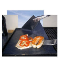 PTFE fibra de vidro reutilizáveis churrasco antiaderente Grill Mat forro