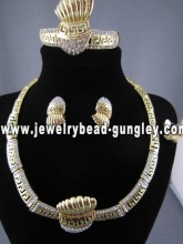 wholesale African costume jewelry set