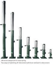 Elevador hidráulico aceite Buffer, 100-860 émbolo trazo OB35