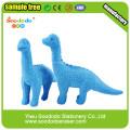 Blue Dinosaur Shaped Eraser,Animal Mini Promotion toy