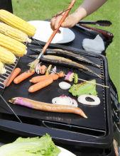 PTFE resistentes antiaderente churrasco Mat, cozinhando sem óleo & gordura