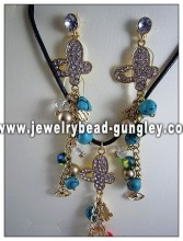 Fashion gold plated jewelry set for group