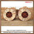 Empty wooden cable reels for sale
