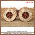 Impressive wooden wire spool