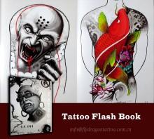 Novo livro Flash do tatuagem