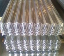 Galvanized steel roof panel