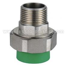 PPR Fittings-MALE THREAD UNION