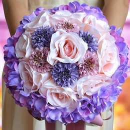 Bridal Wedding Bouquet Flower Arrangement Rose Bouquet Flower Bouquet Wedding Party Home Decor