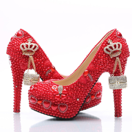 Women's Rhinestones Pumps