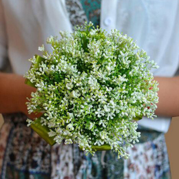 Artificial Fake Baby's Breath Flowers Branch Plastic Real Touch Home Office Indoor Wedding Bridle Bouquet Decoration