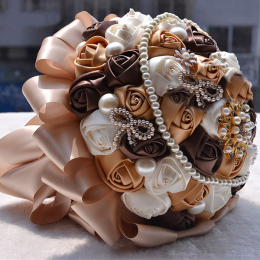 Wedding Bouquet Stunning Hand Held Wedding Accessories Rose Flowers