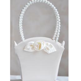 Elegant Wedding Flower Girl Basket