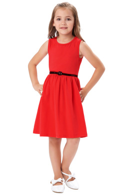 A-Line/Princess Satin Knee-Length Dresses Girl Flower