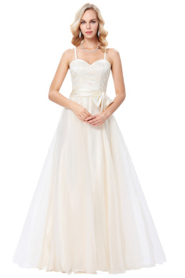 A-Line/Princess Chiffon Floor Length Bridal Maids Dresses