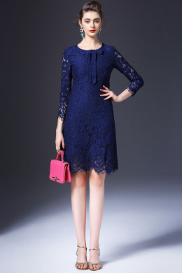 Sheath/Column Lace Short/Mini Pretty Dresses for Wedding Guests