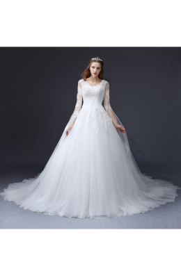 Ball Gown Tulle Court Train Wedding Gowns Wedding Dresses