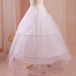 Women's a Line Floor Length Wedding Dress Underskirt Petticoats Slips