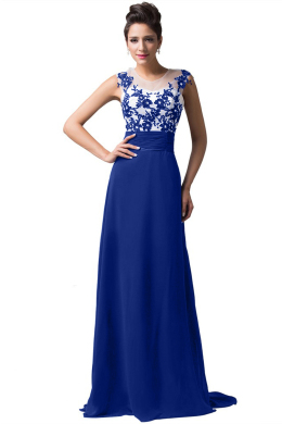 A-Line/Princess Chiffon Floor-Length Brands of Bridesmaid Dresses