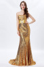 Sheath/Column Sequined Floor Length Girl Flower Dresses Wedding