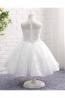 A-Line/Princess Lace Ankle-Length Little Girls Flower Dresses
