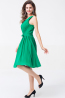 A-Line/Princess One-Shoulder Knee Length Chiffon Cocktail Dress with Pleats