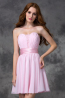 A-Line/Princess Chiffon Short Length Dress for Wedding Party Guest