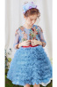 A-Line/Princess Organza Short/Mini Wedding Dresses for Children