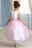 A-Line/Princess Tulle Ankle Length Dresses for Girls Wedding