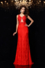 Sheath/Column Lace Floor-Length Bridesmaid Dresses for Weddings