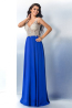 A-Line/Princess Chiffon Floor-Length Popular Prom Dresses