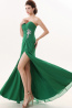A-Line/Princess Sweetheart Neckline Floor Length Chiffon Bridesmaid Dresses with Applique