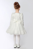 A-Line/Princess Satin Knee Length Flower Girl Store