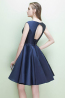 A-Line/Princess Satin Mini Length Beautiful Bridesmaid Dresses