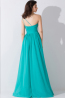 A-Line/Princess One-Shoulder Floor Length Chiffon Bridesmaid Dresses with Pleats