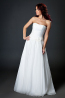 A-Line/Princess Chiffon Floor Length Best Wedding Dress