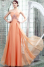 A-Line/Princess Sweetheart Neckline Floor Length Chiffon Prom Dresses with Diamond