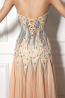 A-Line/Princess Sweetheart Neckline Floor Length Tulle Evening Dresses with Beads