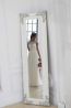 A-Line/Princess Chiffon Floor Length Wedding Dress of Bride