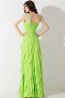 A-Line/Princess Sweetheart Neckline Floor Length Chiffon Prom Dress with Ruffles