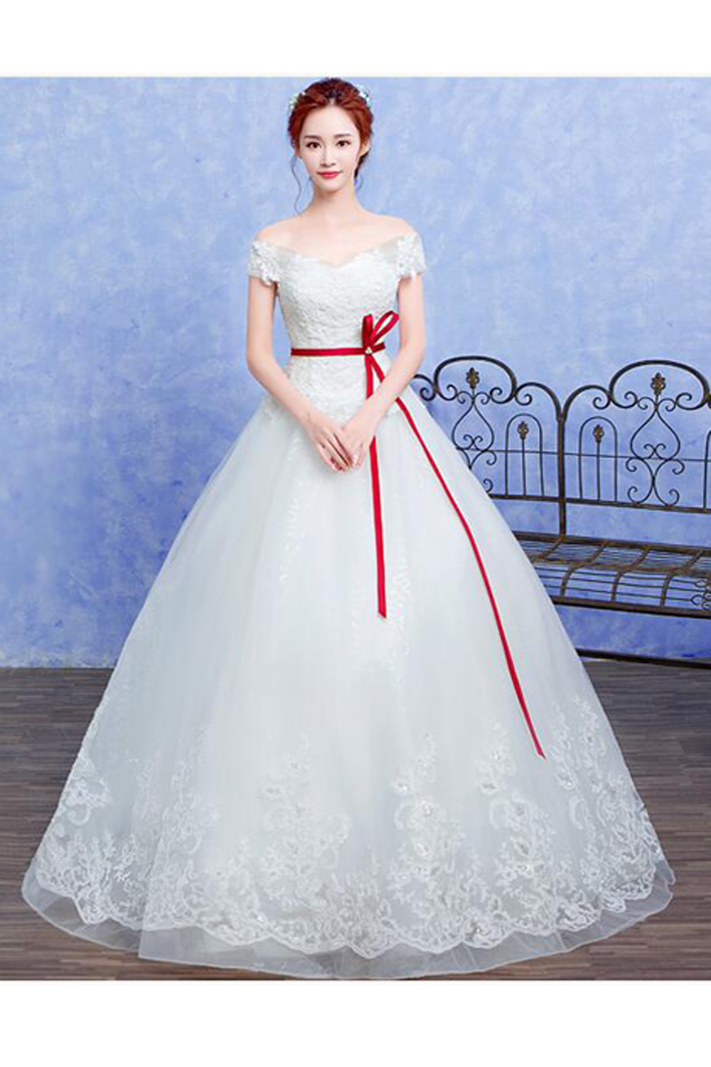 Ball Gown Organza Floor Length Wedding Gowns Wedding Dresses