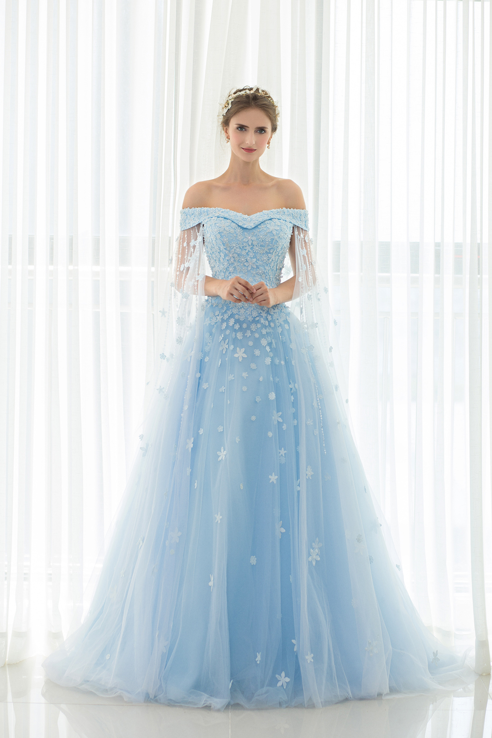 A-Line/Princess Tulle Sweep Train Prom Dress 2017 Sale, Order Today ...