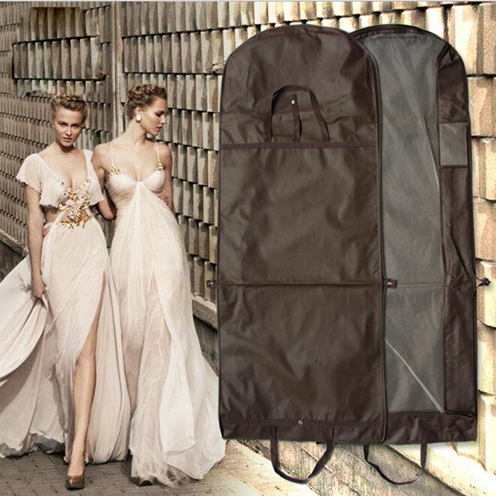 Wedding Gown Travel & Storage Garment Bag - Soft Breathable Durable Rip & Water Resistant Material
