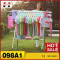 Economic foldable aluminum alloy X shape garment dryer racks