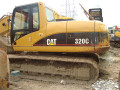 Used Cat Excavator Caterpillar Crawler Excavator Cat320c Excavator