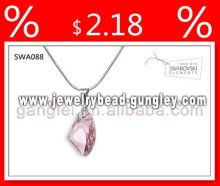 Austrian crystal pendant fashionable necklace