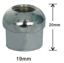 Dome top open acorn lug nuts