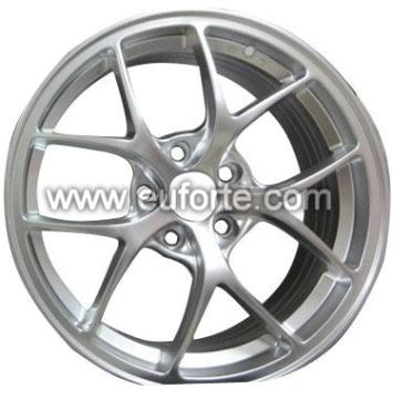 "17""and18""BBS hyper silver aluminum alloy wheel"