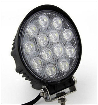High Efficiency 39w Led Work Light 12v 2550lm , Aluminum Crane Led Lamp 6000k