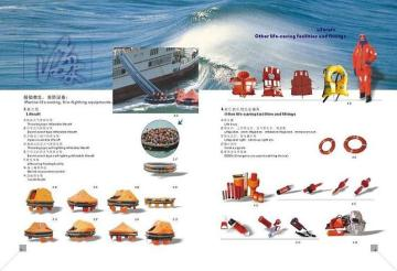 Lifejacket,lifebuoy,immersion suit,thermal protective aid,pilot rope ladder